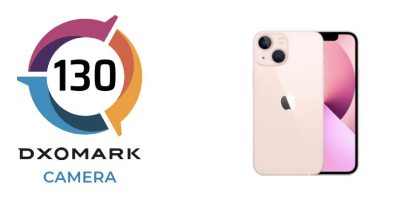 iPhone 13 mini / iPhone 13 sai DxOMarkilta 130 pisteen kokonaisarvosanan.