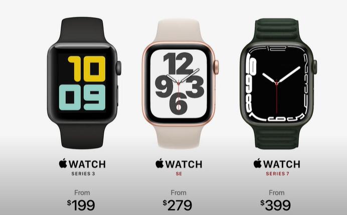 Apple jatkaa yhteensä kolmen Apple Watchin myyntiä.