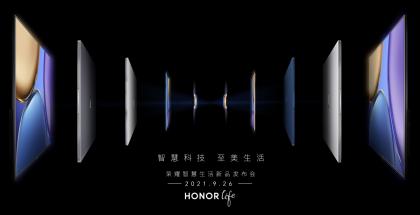 Honor on kertonut tulevista julkistuksista 26. syyskuuta.