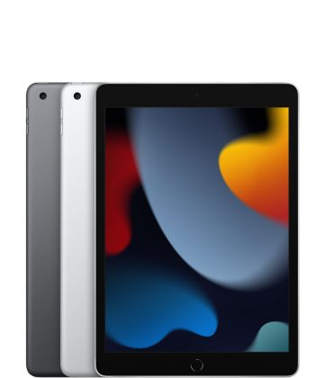 9. sukupolven iPadin värivaihtoehdot ovat tähtiharmaa ja hopea.
