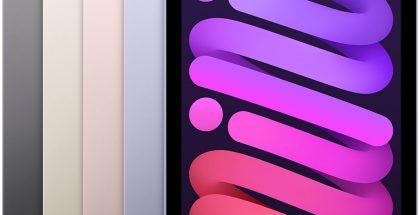 iPad mini eri väreissä.