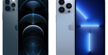 iPhone 12 Pro vs. iPhone 13 Pro.