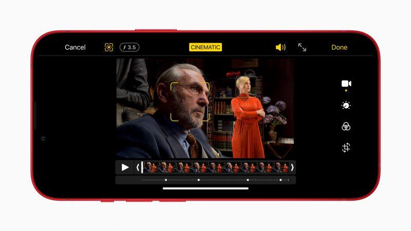 Cinematic Mode on uusi kuvaustila kaikissa iPhone 13 -puhelimissa.