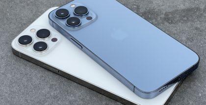 iPhone 13 Pro ja iPhone 13 Pro Max.