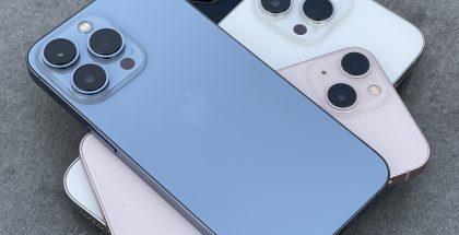 iPhone 13 -puhelimet.
