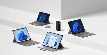 Microsoftin uusia Surface-laitteita.