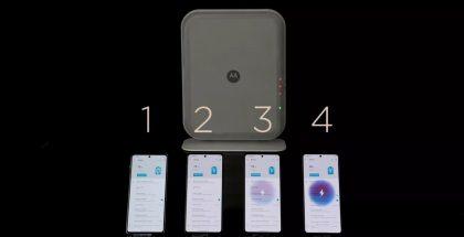 Motorolan langaton etälataus tukee nyt kerralla jopa neljän laitteen lataamista yhdestä latauslähteestä.