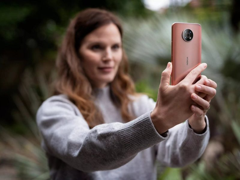 Nokia G50:ssä on 48 megapikselin pääkamera. Kuva: Roland Quandt / Twitter.