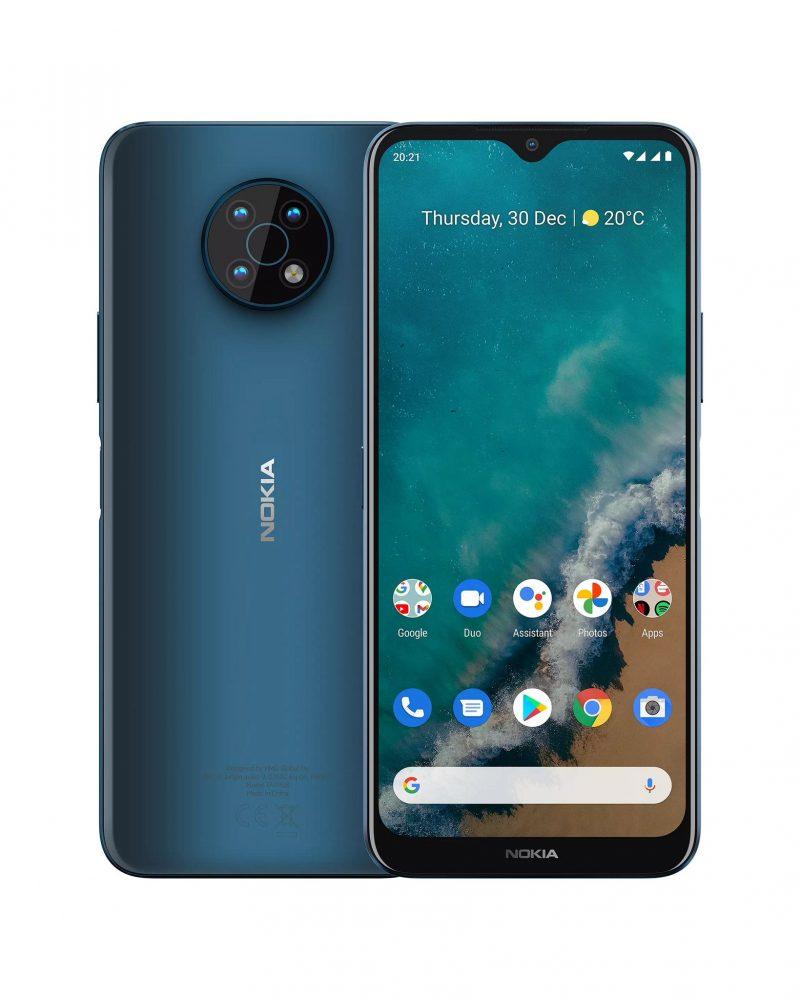Nokia G50, sininen Ocean Blue. Kuva: Roland Quandt / Twitter.