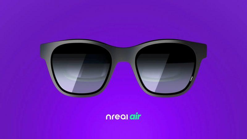 Nreal Air -designin tavoitteena on ollut melko tavallisen näköiset lasit.