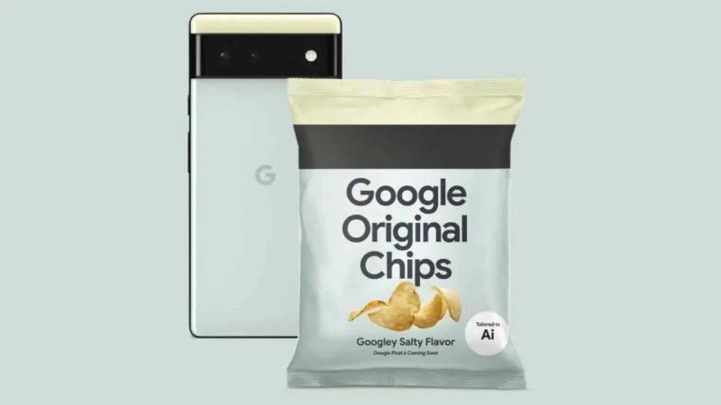 Pixel 6 -puhelimia markkinoidaan myös perunalastujen voimalla.