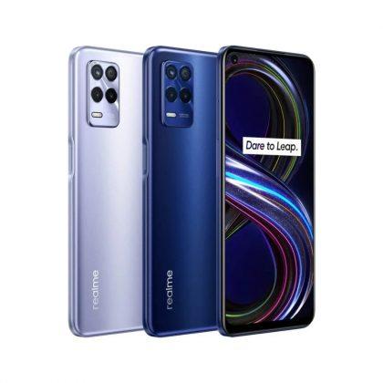 Realme 9 -puhelinten julkaisu viivästyy. Kuvassa Realme 8s 5G.
