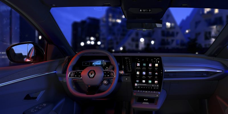Renault Mégane E-Tech Electric on ensimmäinen Android Automotive -auto Qualcommin piirillä.