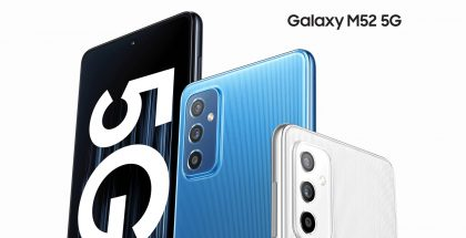 Samsung Galaxy M52 5G.