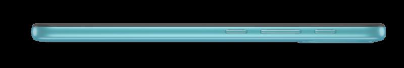 Moto E20:n sivuprofiili.