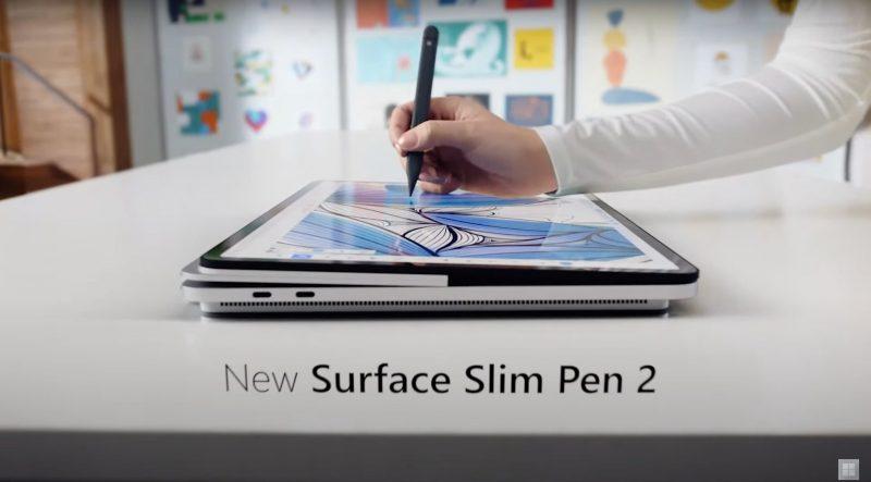 Studio-tilassa Surface Laptop Studio sopii hyvin esimerkiksi piirtämiseen kynällä.
