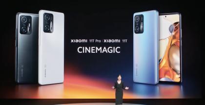 Xiaomi julkisti 11T:n ja 11T Pron.