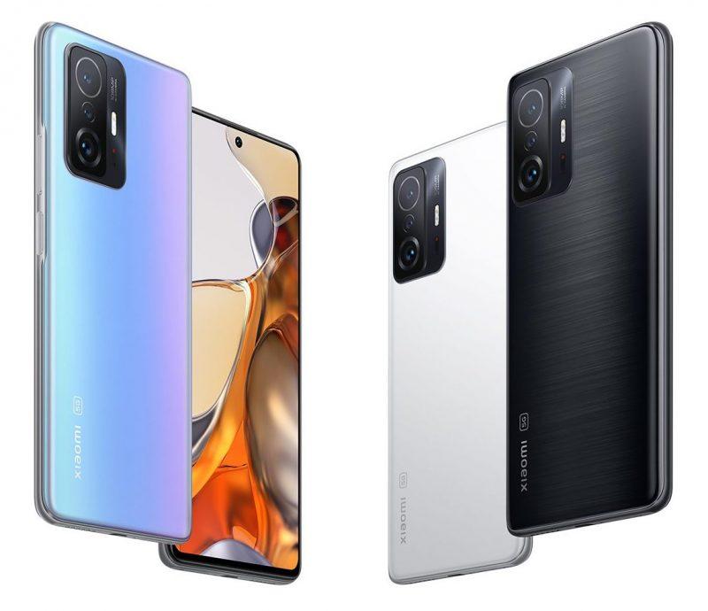 Xiaomi 11T ja Xiaomi 11T ovat muotoilultaan samanlaiset.