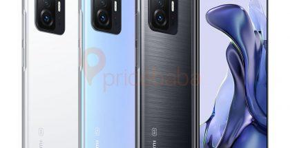 Xiaomi 11T Pro eri väreissä aiemmassa vuotokuvassa. Kuva: Ishan Agarwal / Pricebaba.