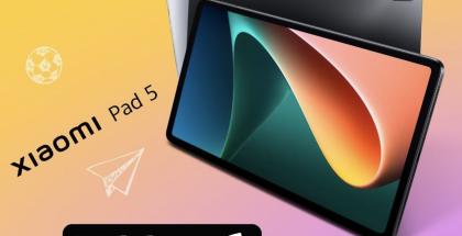 Xiaomi Pad 5 valkovenäläisen verkkokaupan jakamassa kuvassa.