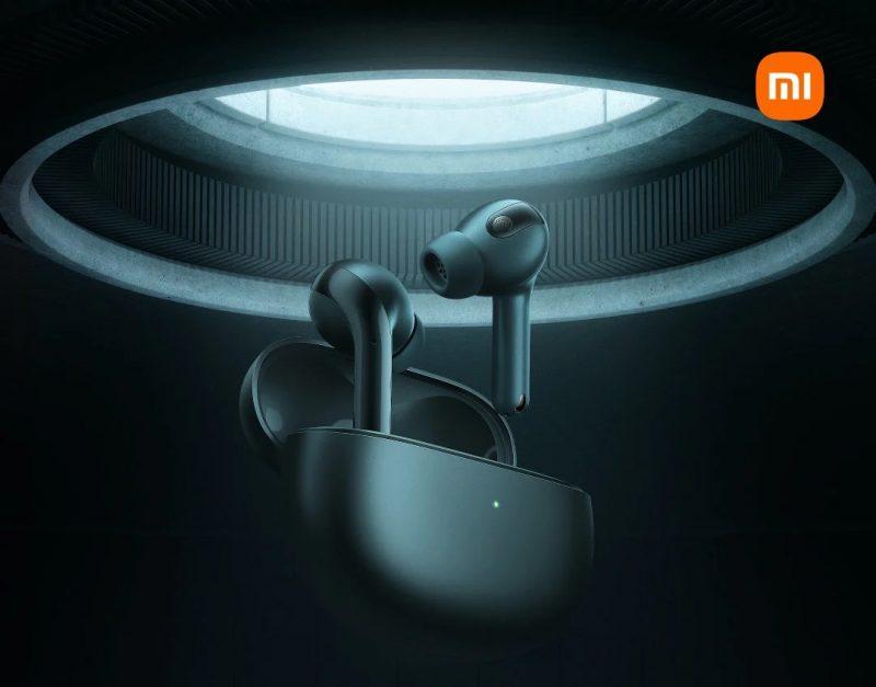 Xiaomin ennakkokuva uusista täyslangattomista nappikuulokkeista.