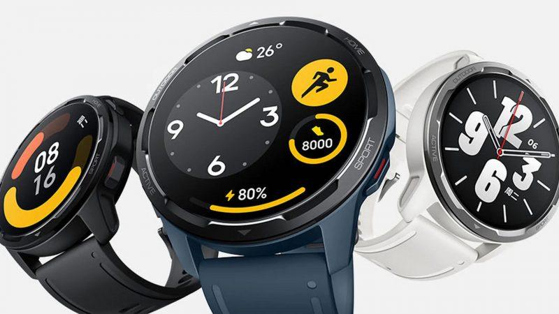 Xiaomi Watch Color 2 eri väreissä.