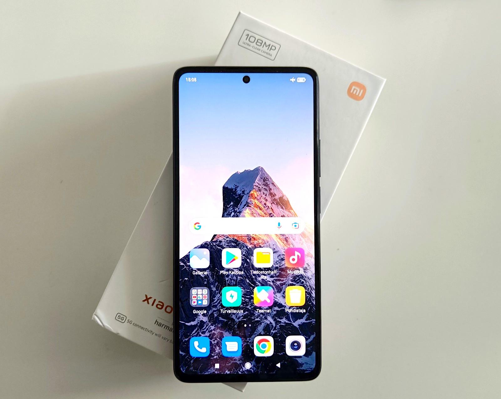Xiaomi 11T Pro.
