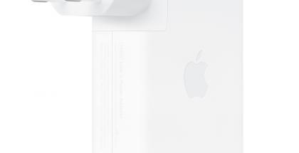 Applen 140 watin USB-C-virtalähde.