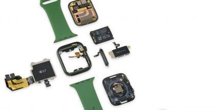 Apple Watch Series 7 iFixitin purkamana.
