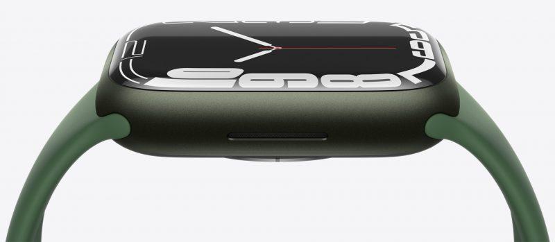 Apple Watch Series 7 sivulta.