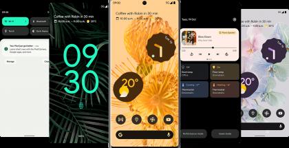 Pixel 6 -puhelimet tulevat heti Android 12:lla ja sen uudella Material You -käyttöliittymällä.