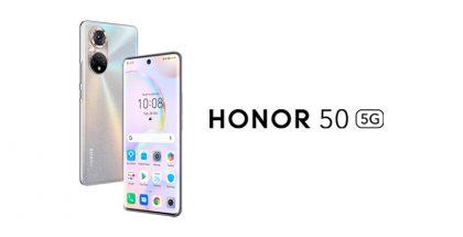 Honor 50 sisältää Googlen palvelut.