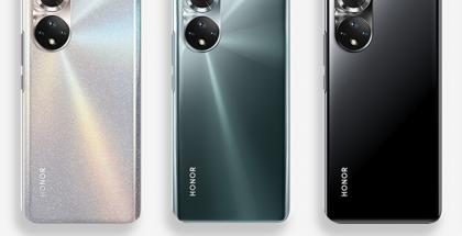 Honor 50:n kolme eri värivaihtoehtoa sopivat erilaisiin tyyleihin.