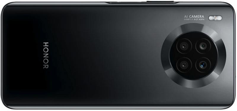 Honor 50 Liten toinen värivaihtoehto on musta. Kuva: WinFuture.de.