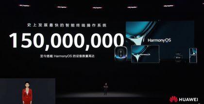 Huawein HarmonyOS-käyttöjärjestelmä löytyy nyt 150 miljoonasta laitteesta.