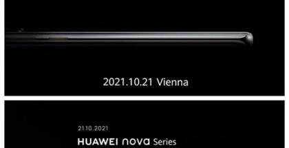 Huaweilta on tulossa Nova-sarjan älypuhelinlanseeraus 21. lokakuuta, kertovat ennakkokuvat.