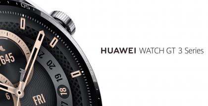 Kuvankaappaus Huawei Watch GT 3 Series -älykellosta Huawein julkaisemalta ennakkovideolta.