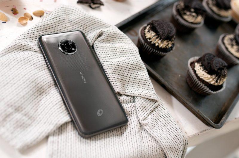 Nokia G300:ssa on kolme takakameraa.
