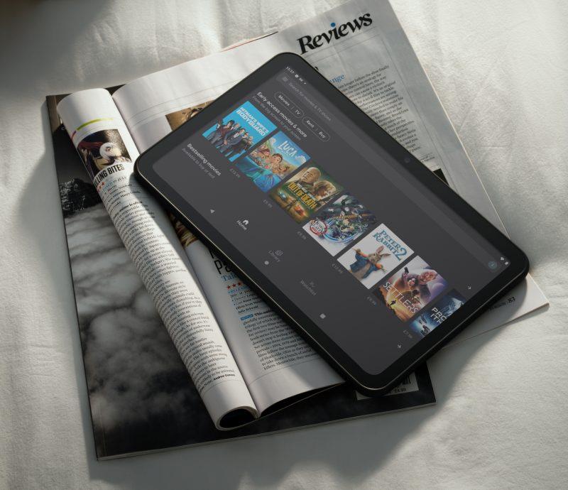 Nokia T20:ssä on 10,36 tuuman ja 5:3-kuvasuhteen näyttö.