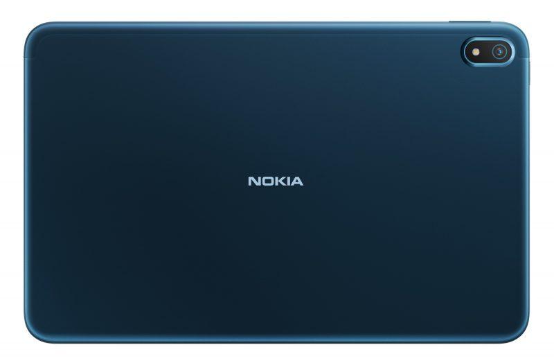 Takana Nokia T20:ssä on 8 megapikselin kamera.