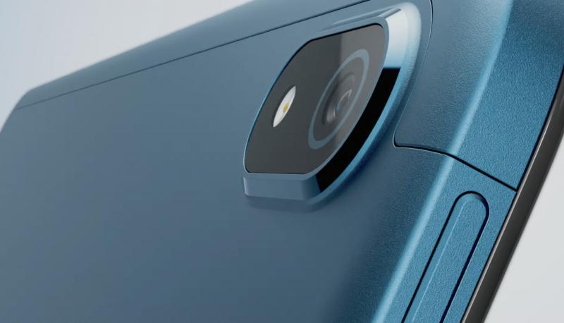 Nokia T20:n takakamera. Kuvankaappaus verkkoon ilmestyneeltä videolta.