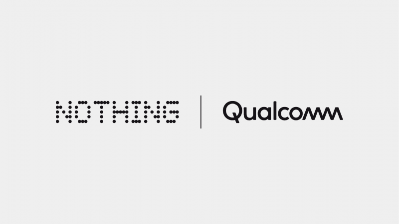 Nothing Qualcomm logot.