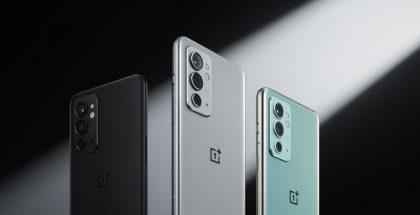 OnePlus 9RT eri väreissä.