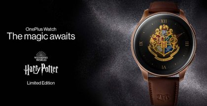 OnePlus Watch Harry Potter Limited Edition.