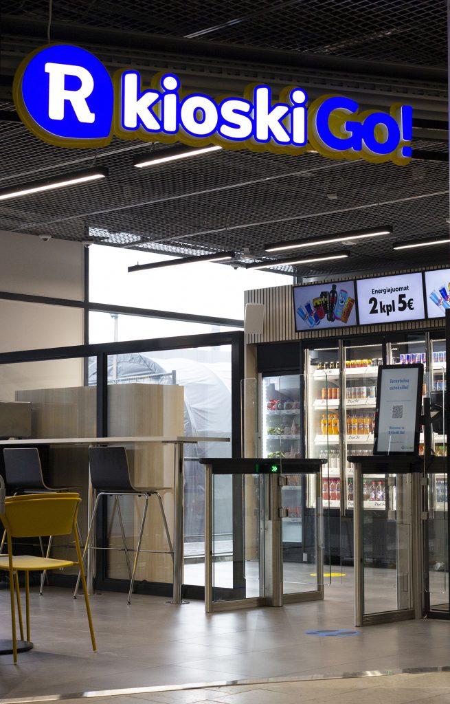 Ensimmäinen R-kioski Go avattiin Helsingin Viikissä.