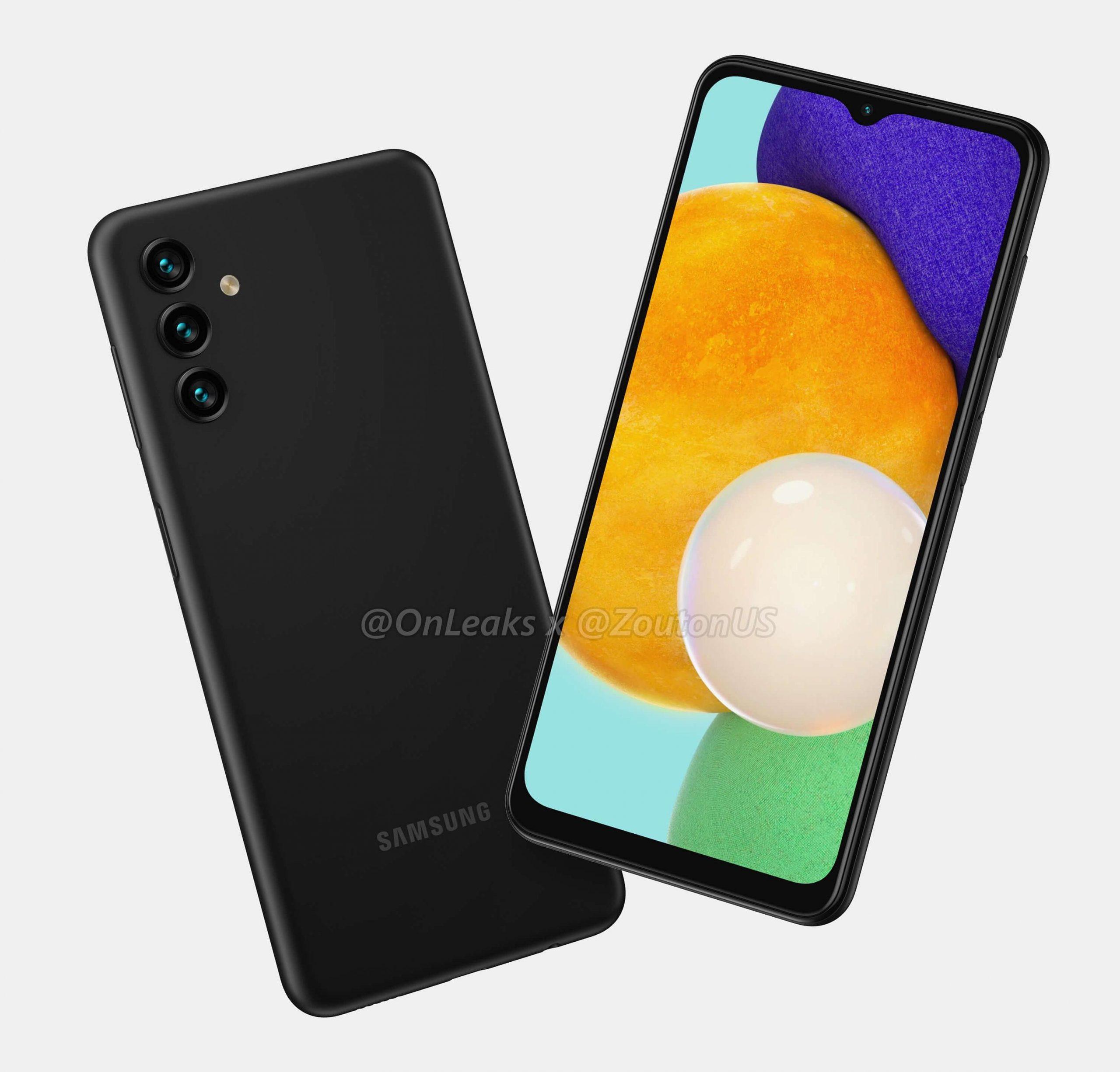 Samsung Galaxy A13 5G. Kuva: OnLeaks / Zouton.com.