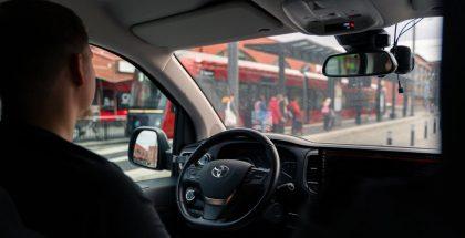 Sensible 4 käyttää testaukseen Toyotan Proace-autoja.