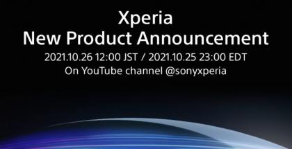 Sony kertoi tulevasta Xperia-julkistuksesta 26. lokakuuta.