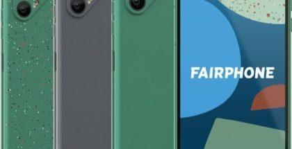 Fairphone 4:n värivaihtoehdot.